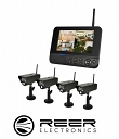 WIRELESS MONITORING SET 4 CAMERAS